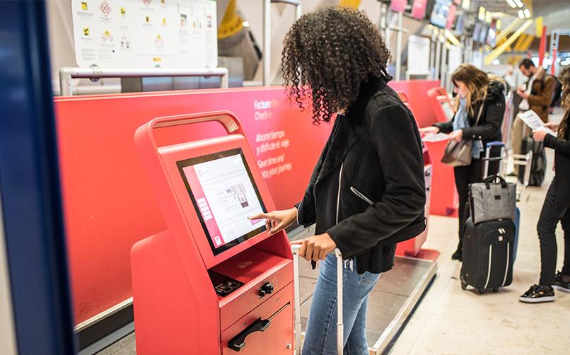 An interactive kiosk