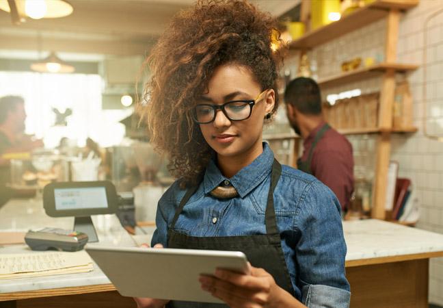 """use of ipad digital signage in food industry"