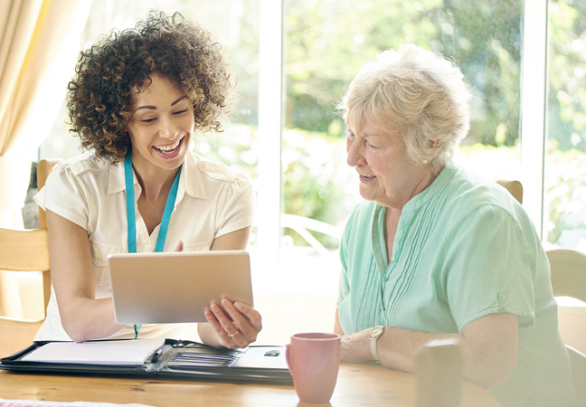 """""""use of ipad digital signage in healthcare"""