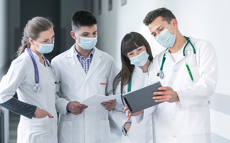 frontline device management in medical field