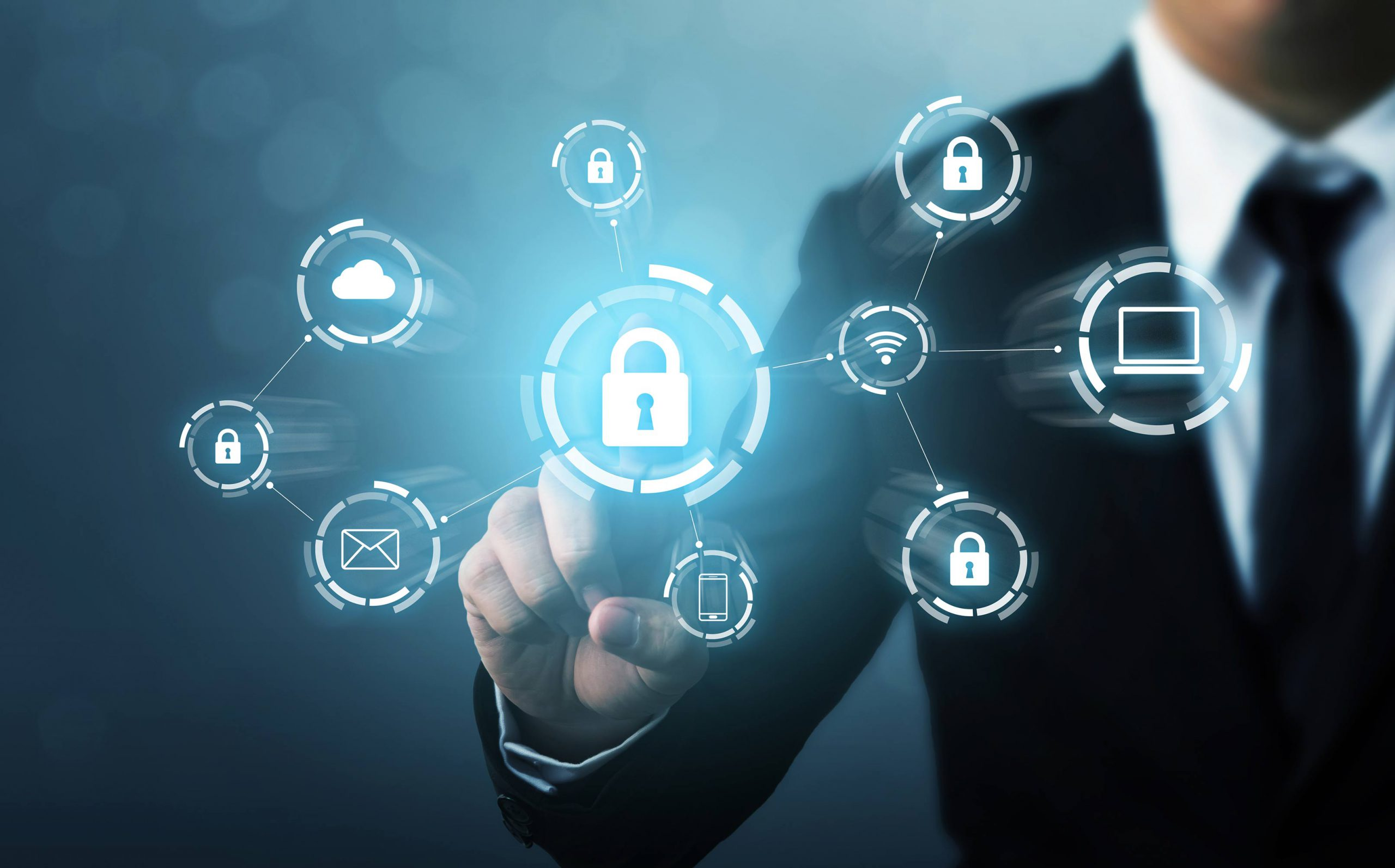 Checking device and client integrity for data security