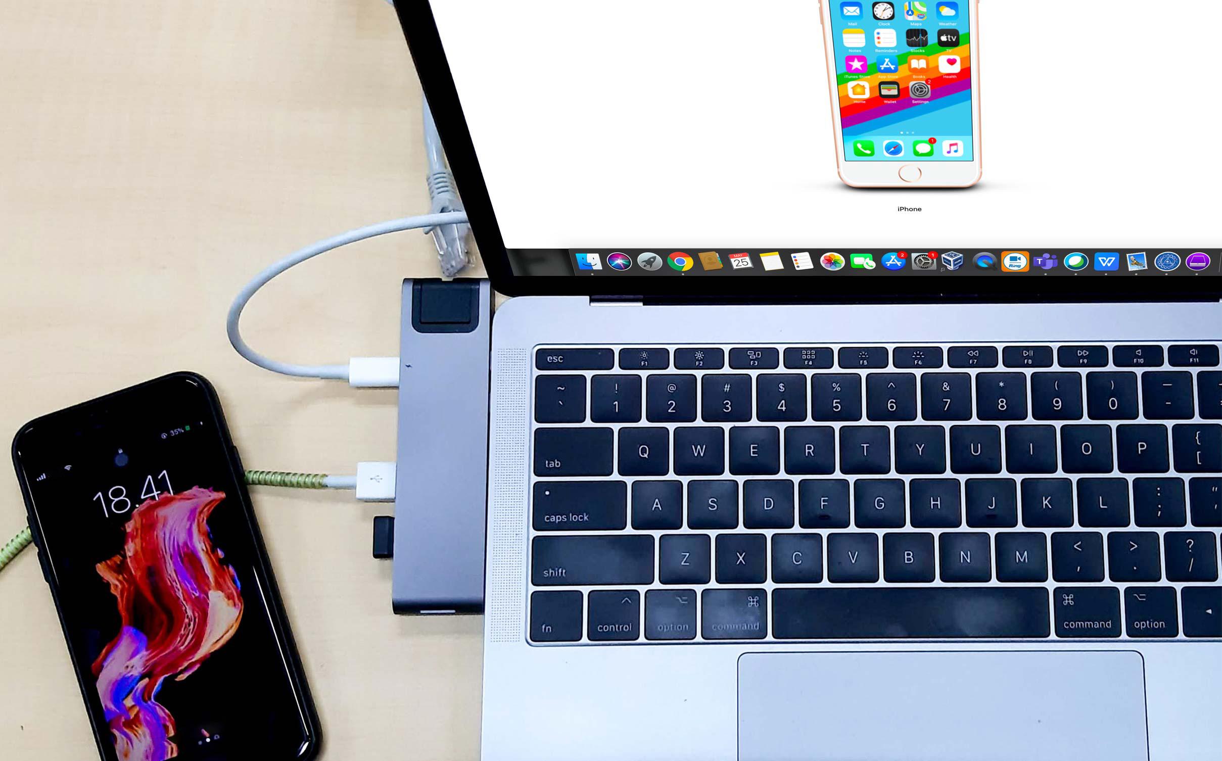 Configuring iPhone using Apple Configurator