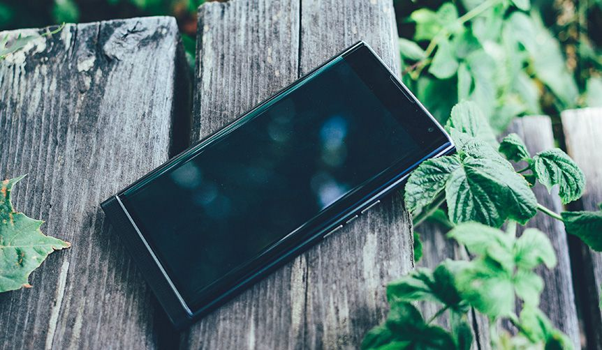 A lost Blackberry device