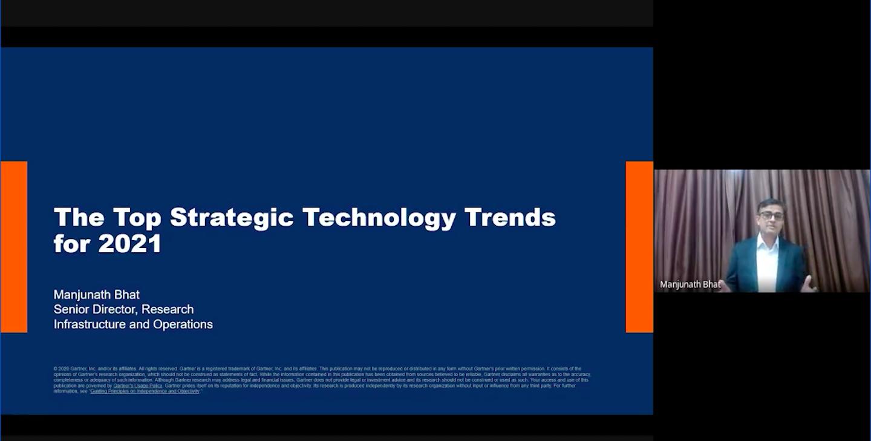 Gartner analyst, Manjunath Bhat speaks on trends of enpoint operation for 2021