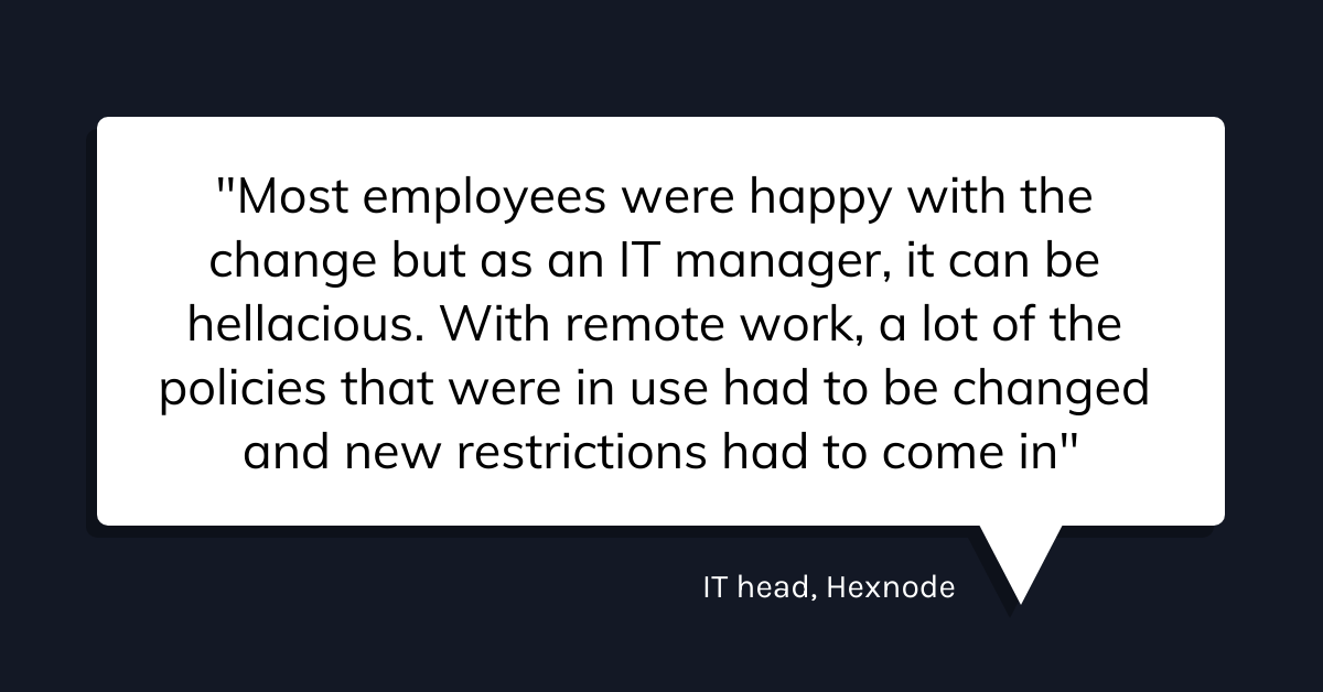 How hexnode uses hexnode to manage hexnode manager quote 4