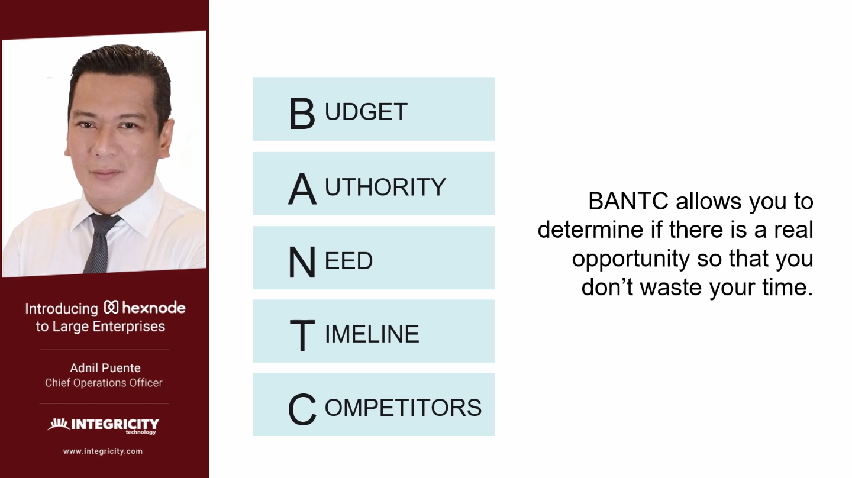 BANTC method Adnil Puente