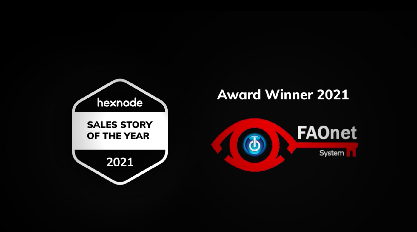 Winner of the Sales Story of the Year Award