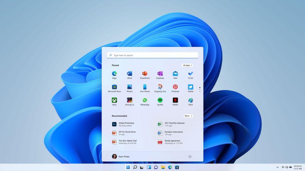 Windows 11 UI