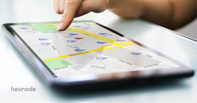 UEM location services