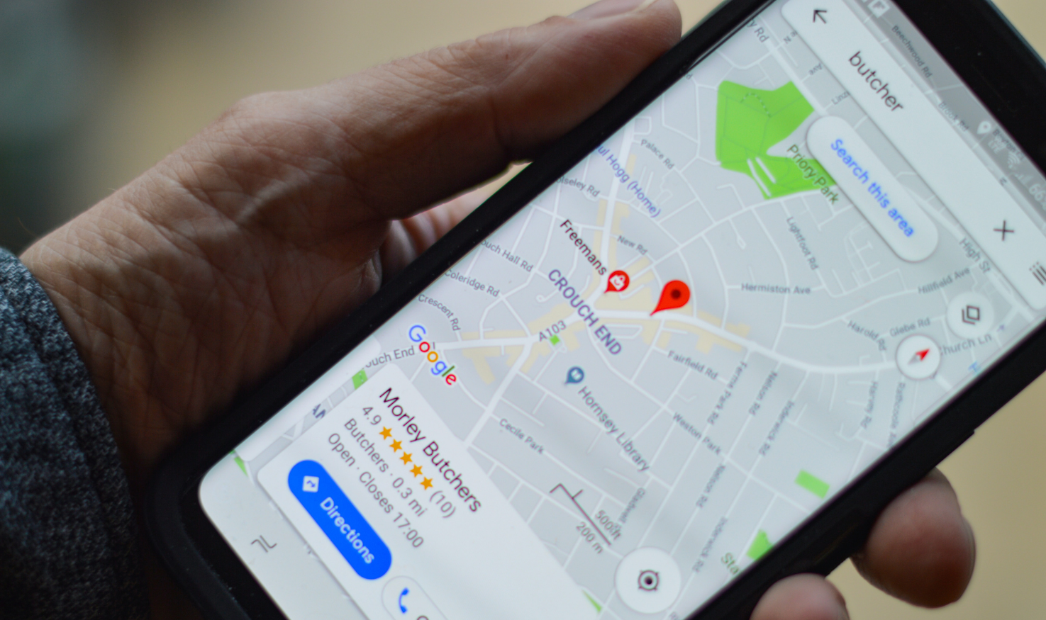Location services on smartphones