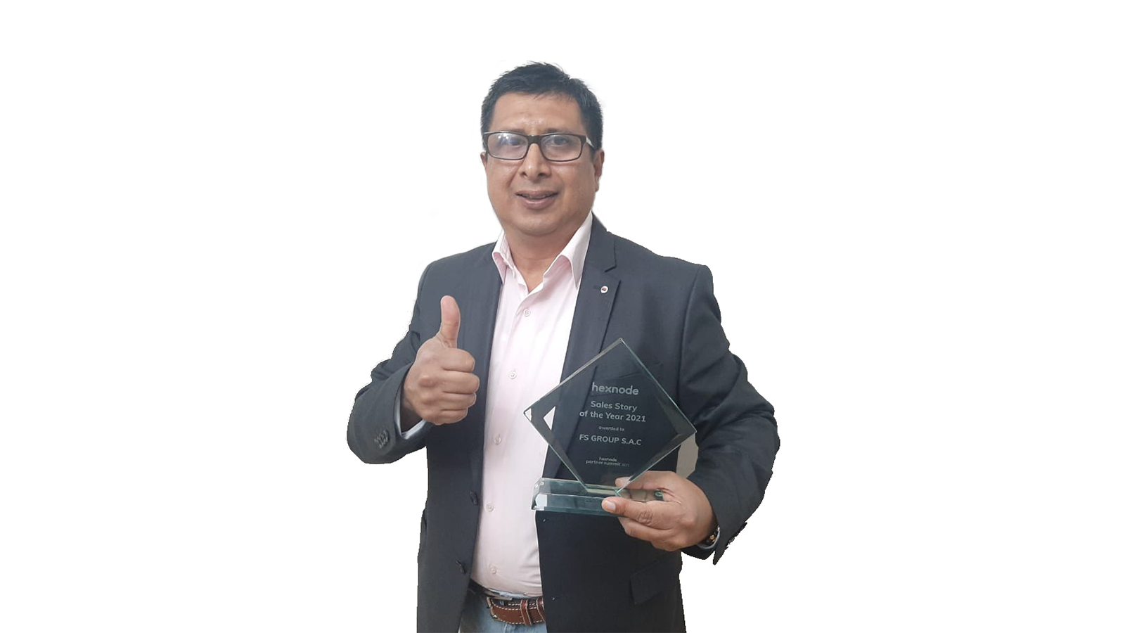 Sales story of the year award