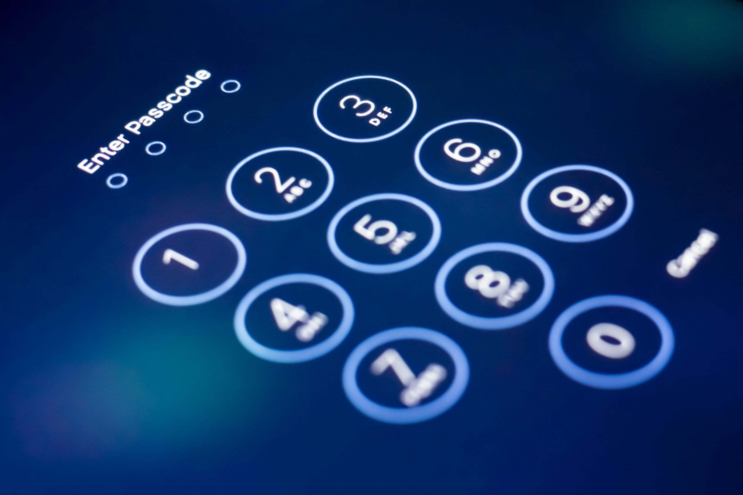 Securing devices with a passcode