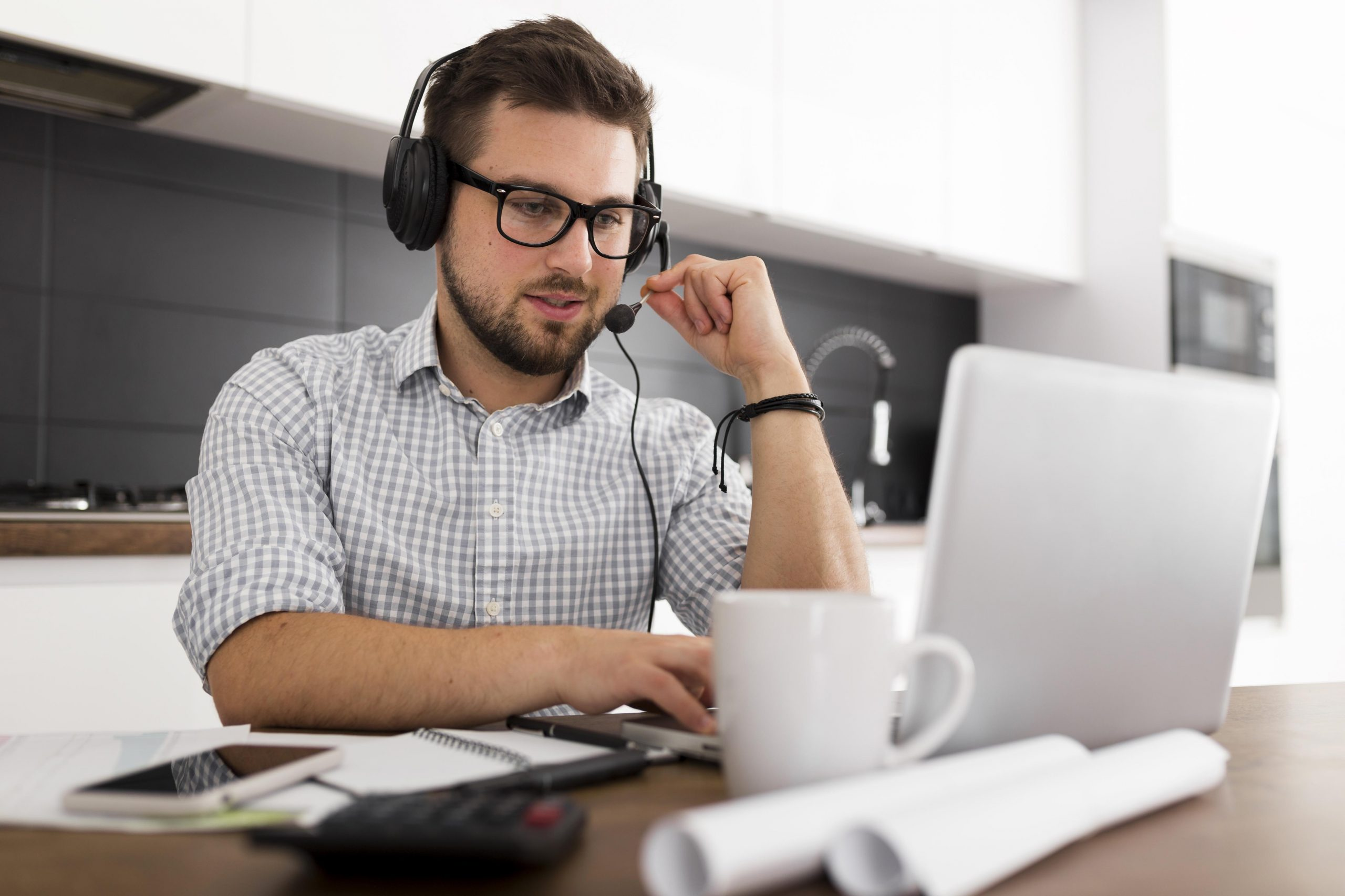 Secure devices when employees are working remotely