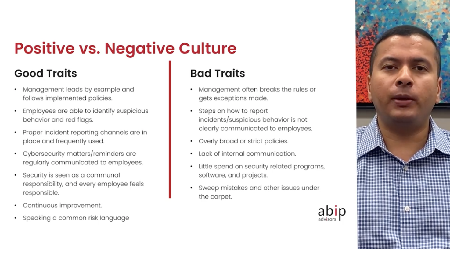 HexCon21 Madhu Maganti difference between positive and negative work cultures