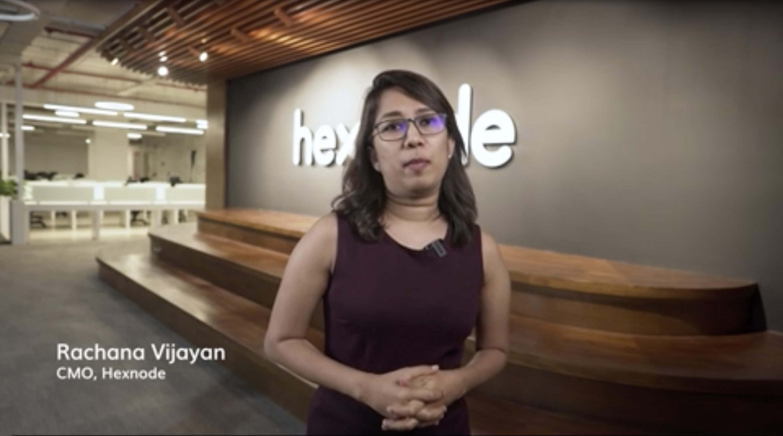 Rachana Vijayan (CMO at Hexnode)