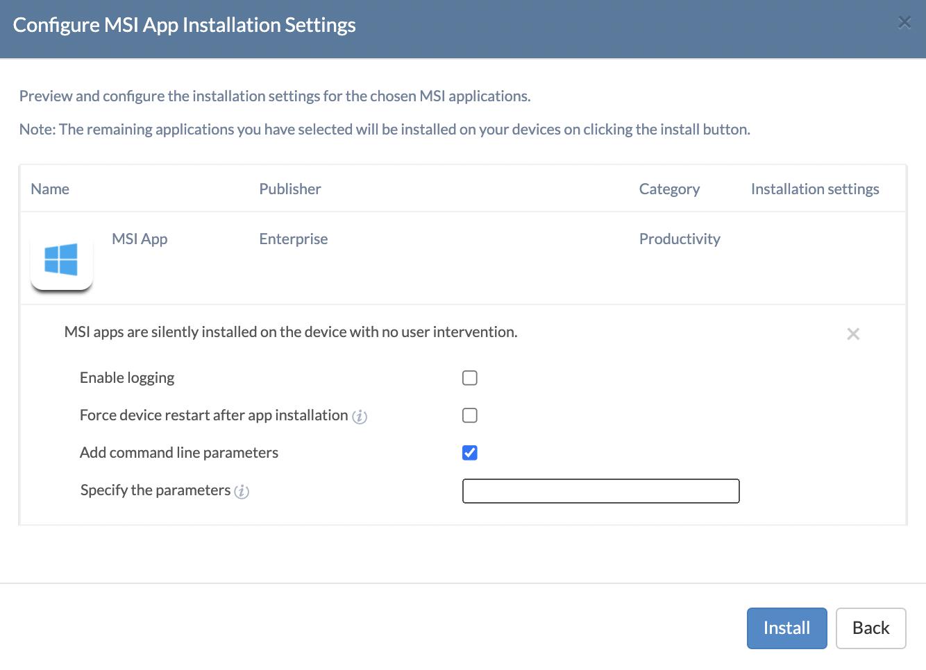 Android APN Settings