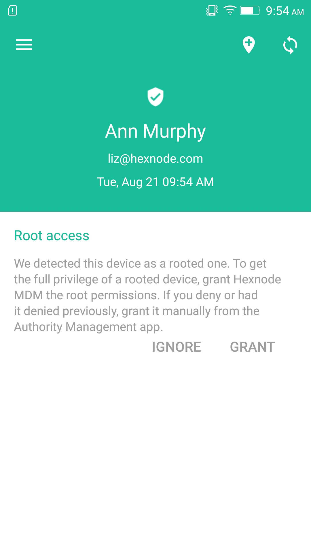 Rooting in Android - Grant Root Access