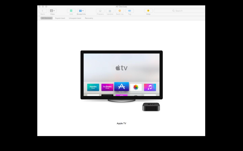 enroll apple tvs in hexnode mdm