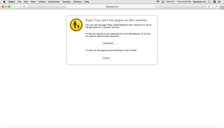 blacklisting a website with hexnode mdm
