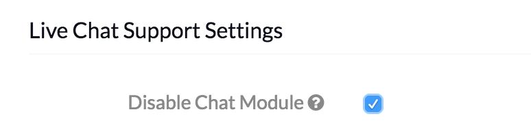 MDM Settings - Disable-Chat-Module