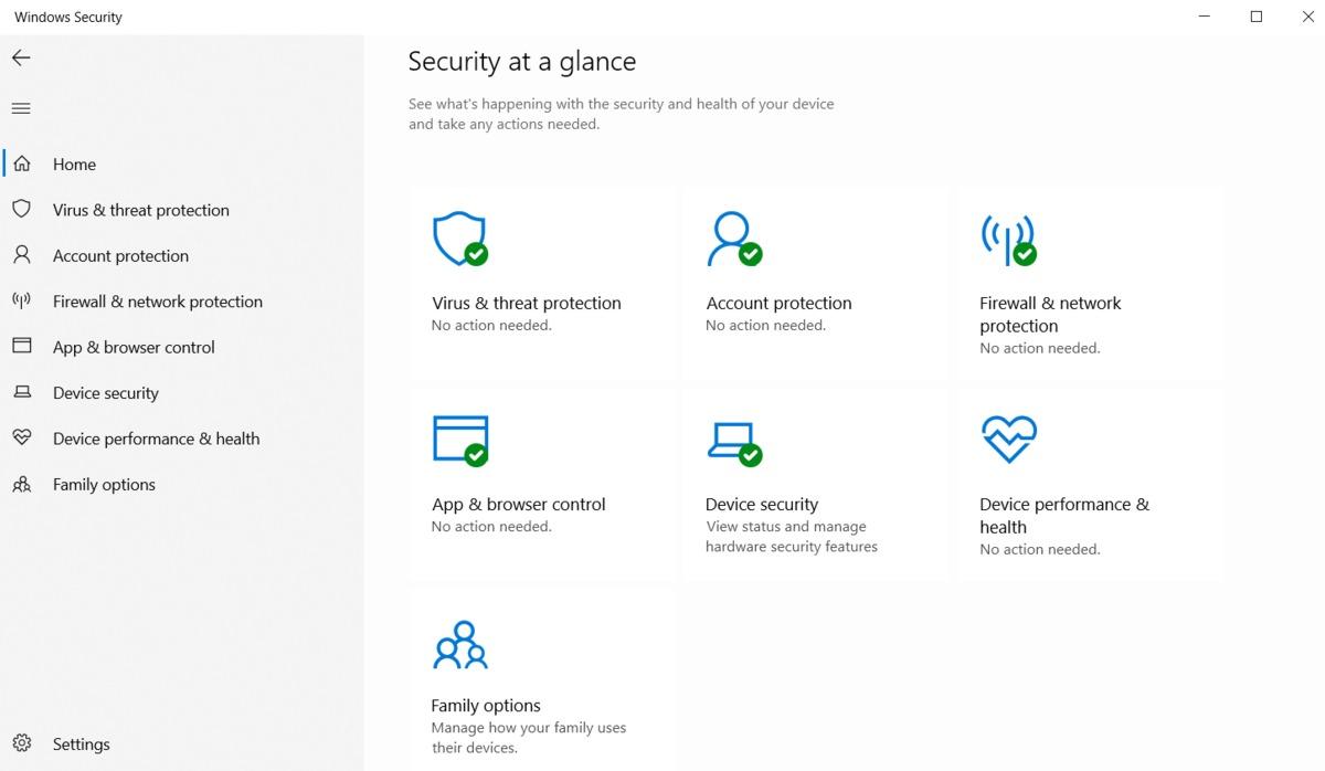 Configure Windows Defender Security Center settings using Hexnode MDM