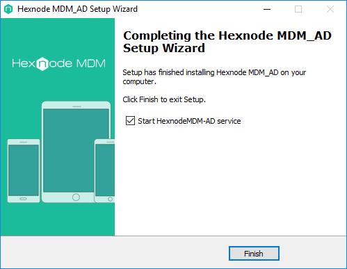 complete the Hexnode MDM AD setup