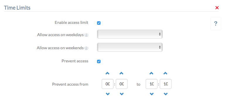 Restrict User Login and Access on Mac devices using Hexnode MDM - Time Limit Policy